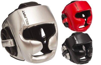 Шлем боксерский с полной защитой Zelart 1355 шлем бокс размер M-XL 3 цвета