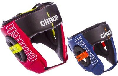 Шлем боксерский с полной защитой Clinch C142 шлем бокс размер M-XL 2 цвета
