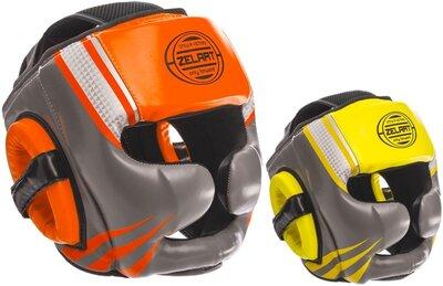 Шлем боксерский с полной защитой Zelart 1344 шлем бокс размер M-XL 2 цвета