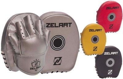 Лапа изогнутая боксерская Zelart 1418 2 лапы в комплекте, размер 20x17x3см