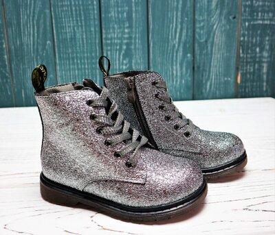 Низкая цена- супер качество Стильные ботинки для девочки Weestep