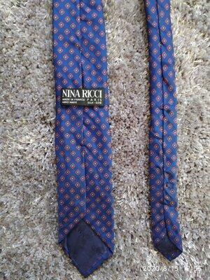 Шелковый галстук nina ricci,