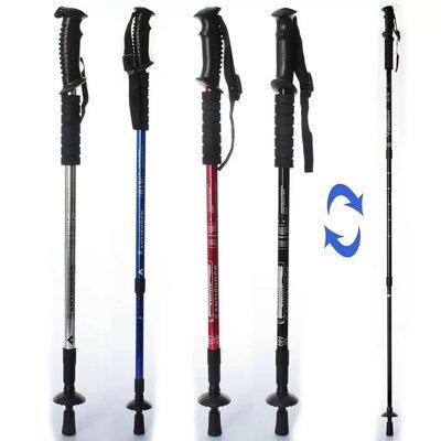 Трекинговые палки для ходьбы MS 2019-1 65-135см, телескоп 3секции