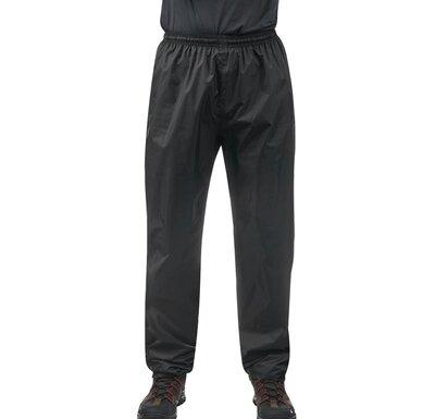 Мужские брюки штаны водонепроницаемые черные waterproof Quechua Décathlon 30 М