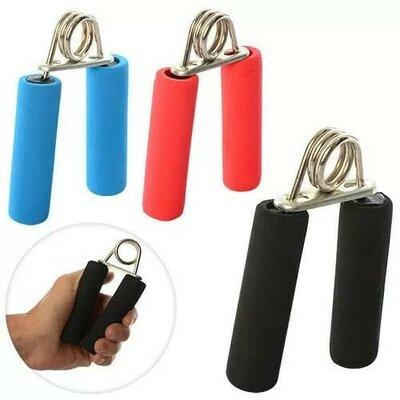 Эспандер MS 1080 кистевой, пружинный, 12,5см, фомовые ручки