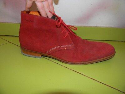 фирменные мужские туфли ботинки VAN LIER 44 р