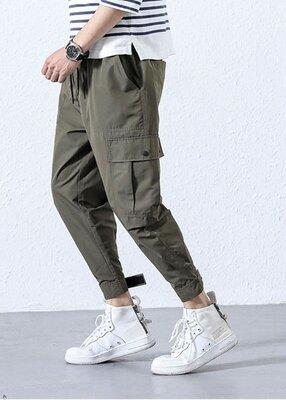 Брюки, штаны мужские с карманами карго