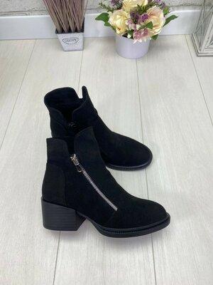Хит осени 2020 Натуральные кожаные/замшевые ботинки от производителя