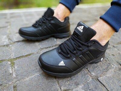 Мужские кроссовки Adidas Waterproof черные