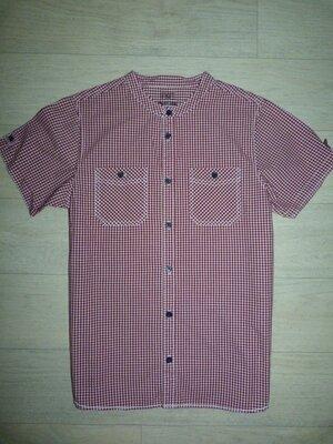 Рубашка с воротником-стойкой F&F 12-13 лет