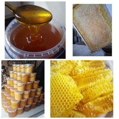 Продано: Натуральный мед в сотах, медовые соты