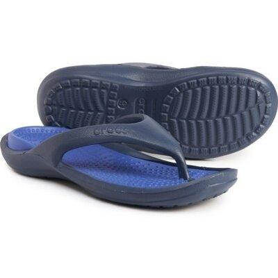 Мужские вьетнамки Crocs Athens Flip мужские шлепки крокс вьетнамки Crocs оригинал м8w10