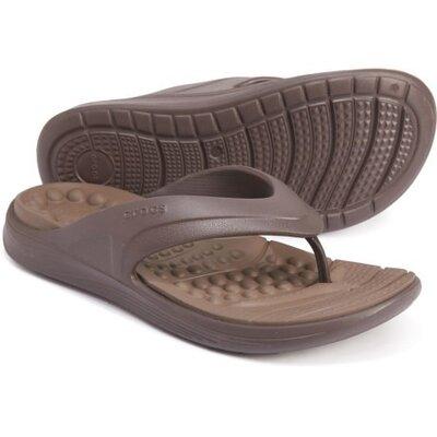 мужские вьетнамки Crocs Reviva Flip шлепки Crocs Reviva Flip мужские шлепанцы крокс оригинал m10.m11
