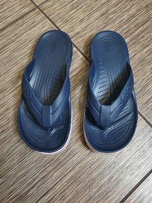 Удобные, комфортные вьетнамки, шлепанцы Crocs Jibbitz Flip, оригинал