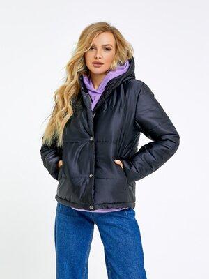 Стеганая куртка на синтепоне, жіноча осіння куртка