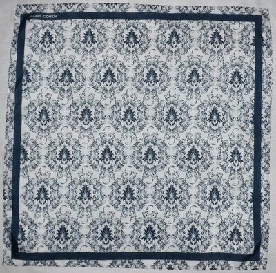 Шейный платок-бандана, Jacob Cohen, шелк-хлопок, 55х56