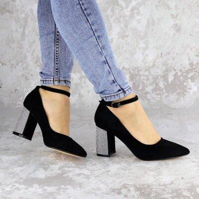 Женские туфли черные Teo выбор обуви