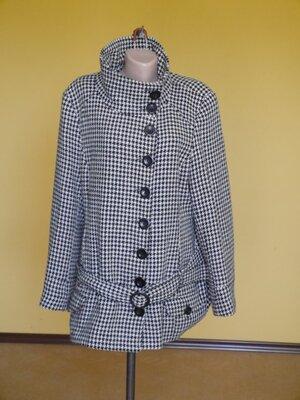 Пальто коротке з шерстю на 18-46 євро розмір New Look