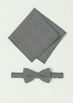 Набор мужской бабочка и носовой платок h&m, новый