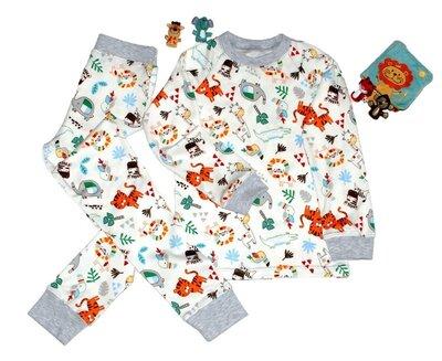 Детская пижама Сафари, рост 80-146