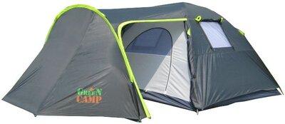 Палатка 4-х местная GreenCamp GC 1009 380x240x160 см