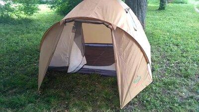 Продано: Палатка 4-х местная GreenCamp 1004 335x250x180 см