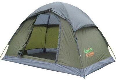 Палатка 2-х местная GreenCamp 3005 210x150x130 см