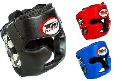 Шлем боксерский с полной защитой Twins 015 шлем бокс размер M-XL 3 цвета