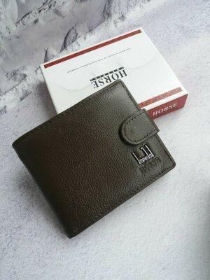 Мужской кожаный кошелек портмоне кожаное чоловічий шкіряний гаманець шкіряний гаманець