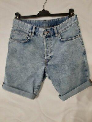 H&M Шикарные шорты slim fit 31 размер