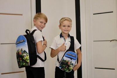 Набір рюкзак шкільний, міні рюкзак, мішок сумка для перевзуття Майнкрафт Minecraft роз та опт