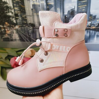 Деми ботинки на девочку 27,28,29,30 размеры