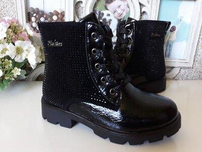 Деми ботинки на девочек 27,28,29 размеры