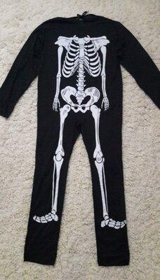 Продано: Продажа. Мужской карнавальный костюм Скелета на Хэллоуин код 623