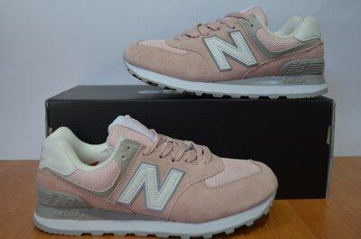 Кроссовки New Balance Нью Беланс розовые.