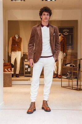 Пиджак мужской из вельвета, кэжуал стиль. Есть большой и очень большой размер. Хс-10Ххл