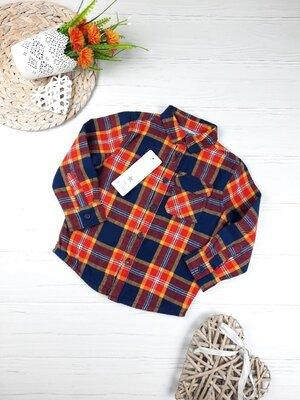 Продано: Рубашка F&F 2 - 3 года, 92 - 98 см.