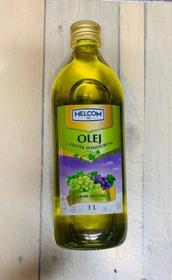 Масло виноградных косточек Helcom 1 л, Польша