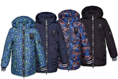 Удлиненная куртка для мальчиков холодная осень