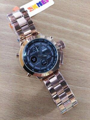 Часы армейские Skmei военные часы аналог AMST 3003