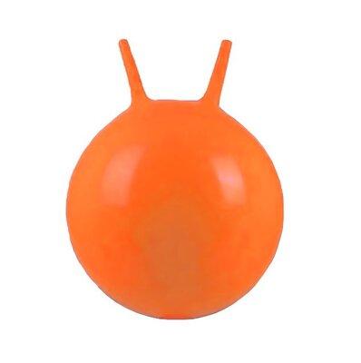 Мяч для фитнеса 45 см фитбол оранжевый MS 0380