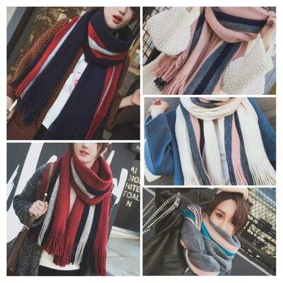 7-81 стильний теплий шарф, накидка, палантин, платок