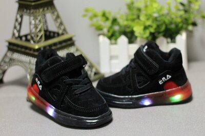 Замшевые кроссовки -кеды