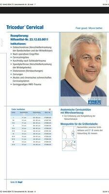 воротник Шанца бандаж Tricodur Cervical IIIK 11 см 40-44 см