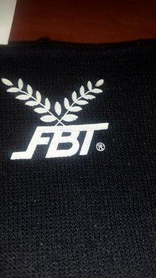 Эластичный бандаж голеностоп FBT размер L