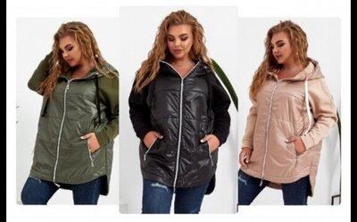 Куртка на флисе, премиум качество, 3 цвета 42 - 56