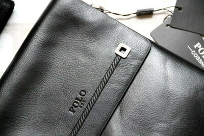 Шикарная мужская сумка сумка-кроссбоди сумка через плечо эко-кожа сумка с кожаным клапаном