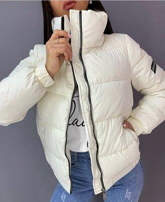 Топовая стильная женская куртка силикон 200