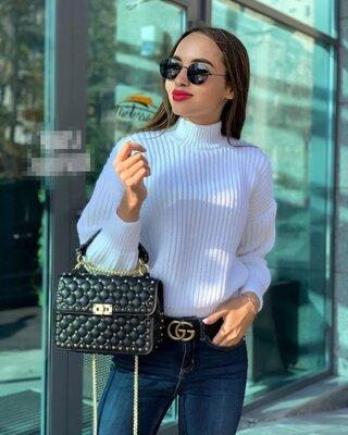 Стильный свитер оверсайз 11 цветов , свитер осень-зима, женский свитер