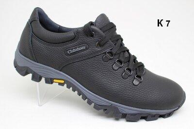 Кожаные туфли-кроссовки, модель К- 7.